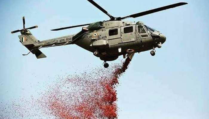 राजस्थान समेत कई राज्यों में कोरोना वॉरियर्स के सम्मान में IAF ने किया प्लाईपास्ट
