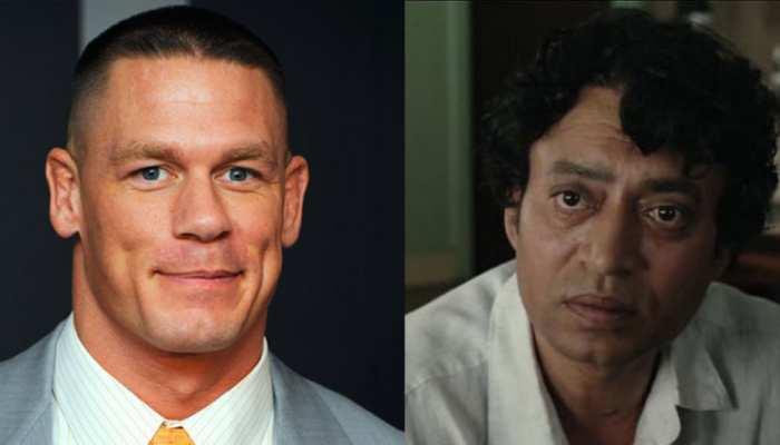 WWE स्टार John Cena ने शेयर की इरफान खान की तस्वीर, इंडियन फैंस ने कहा- 'Love U'