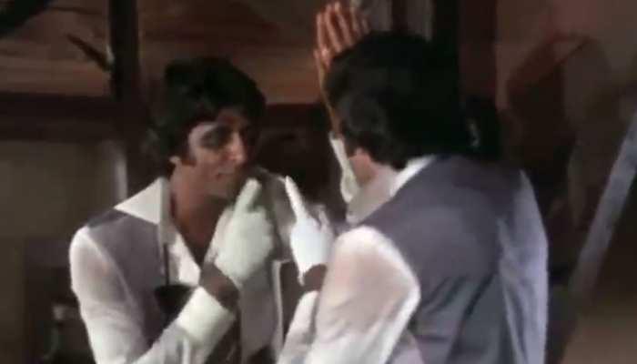 Amitabh Bachchan ने शेयर किया अपनी फिल्म का कॉमेडी सीन, बोले- 'शो मस्ट गो ऑन'