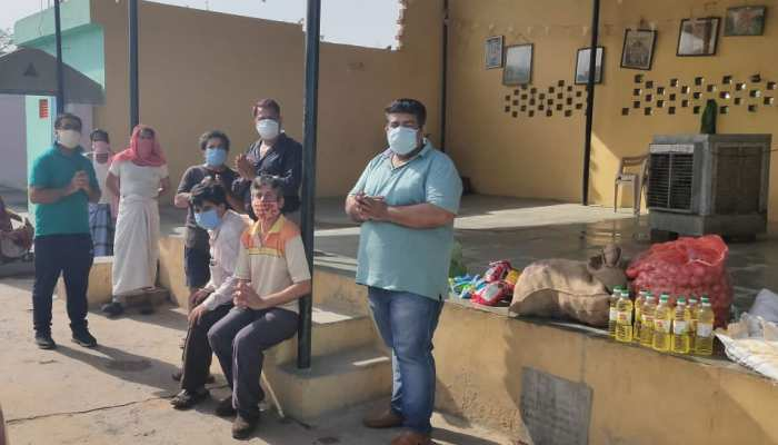 जयपुर: स्वामी गंगा दास सेवा मंडल ने बढ़ाए मदद के हाथ, कर रहा कुछ ऐसा...