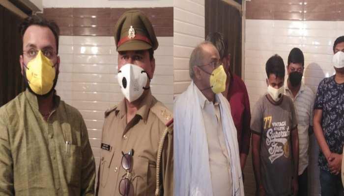 लॉकडाउन का उल्लंघन करने के आरोप में विधायक अमनमणि त्रिपाठी 7 साथियों के साथ गिरफ्तार