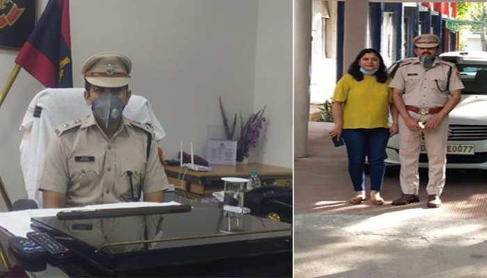 दिल्ली हिंसा में घायल हुए शाहदरा डीसीपी अमित शर्मा ने फिर संभाला चार्ज, स्टाफ ने फूलों से किया स्वागत