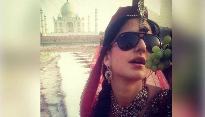 अनारकली के अंदाज में ताजमहल के सामने Katrina kaif ने दिया पोज, Throwback फोटो हुई वायरल