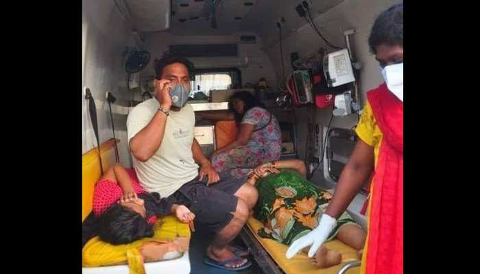6 persons including one child dead after chemical gas leakage Visakhapatnam
