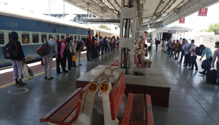 हिसार से बिहार के लिए रवाना हुई स्पेशल ट्रेन, 1200 प्रवासी श्रमिक आएंगे अपने राज्य