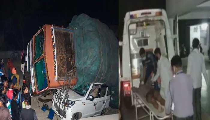 हैदराबाद से यूपी लौट रहे थे मजदूर, भीषण सड़क हादसे में 5 की मौत