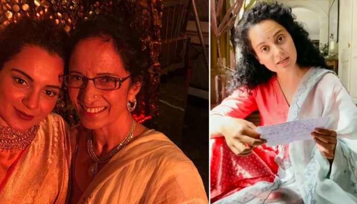 Mother's Day पर मां के लिए Kangana Ranaut ने लिखी इमोशनल कविता, VIDEO हुआ VIRAL