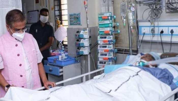 छत्तीसगढ़ के पूर्व CM अजीत जोगी के गले में अटक गया था इमली का बीज, हालत नाजुक
