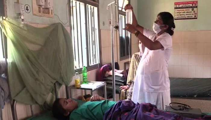 Corona Warriors: 9-month pregnant nurse in Shivamogga serving patients in hospital amid lockdown due to COVID19