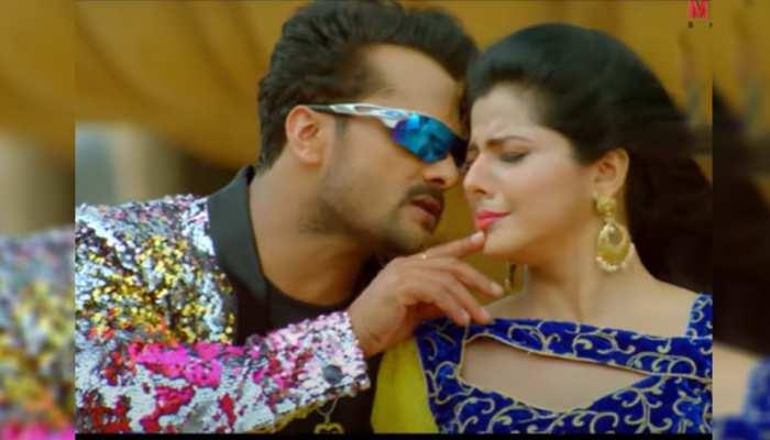 भोजपुरी गाना 'बिस्कुट डुबाके' में धमाल मचा रही है Khesari Lal Yadav और स्मृति सिन्हा की जोड़ी!
