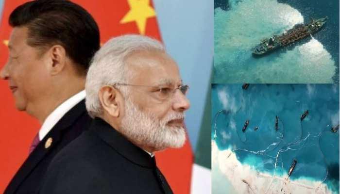 समुद्र पर ऐसे कब्जा कर रहा है चीन, देखिए सबूत