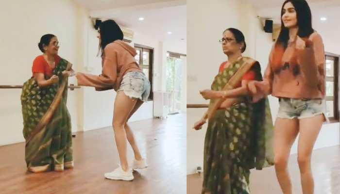 Adah Sharma ने अपनी नानी के साथ किया ऐसा डांस, VIDEO देख लोग हुए हैरान