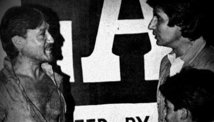 अभिषेक बच्चन ने शेयर की Amitabh Bachchan और Jackie Shroff की यादगार PHOTO, सुनाया किस्सा