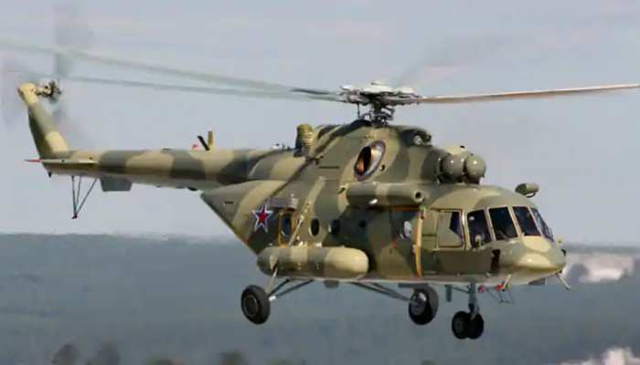 रूस: सेना का हेलिकॉप्टर हुआ दुर्घटनाग्रस्त, क्रू के सभी सदस्यों की मौत