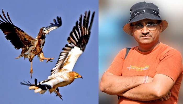 उदयपुर: विश्व प्रवासी पक्षी डे पर प्रतियोगिता का आयोजन, कमलेश शर्मा को मिला प्रथम स्थान