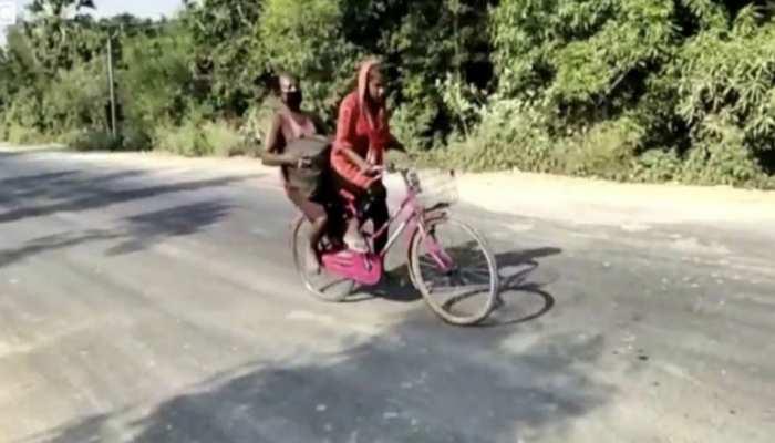 दरभंगा: अखिलेश यादव ने ज्योति की तारीफ की, 1 लाख रुपए देने का किया ऐलान