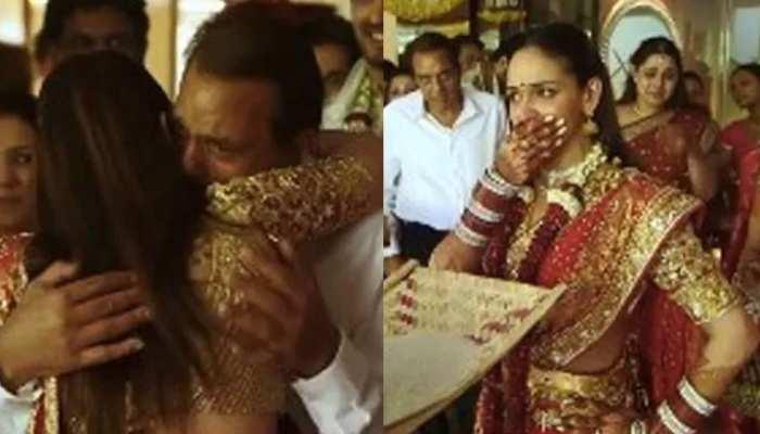 बेटी Esha Deol की विदाई पर फूट-फूटकर रोए थे Dharmendra, थ्रोबैक वीडियो हुआ वायरल