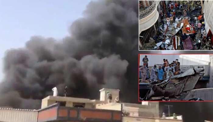 कराची तय्यारा हादसे में अब तक 76 लोगों की हुई मौत