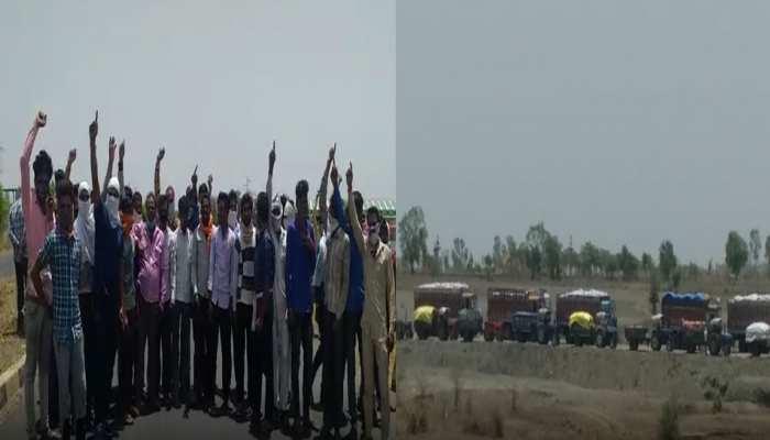 CM शिवराज सिंह के गृह जिले में अन्नदाताओं की अनदेखी, गुस्साए किसानों ने लगाया चक्का जाम
