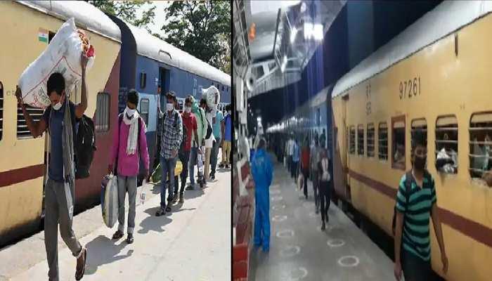 मुंबई से गोरखपुर जाने वाली श्रमिक ट्रेन पहुंच गई ओडिशा, भौचक्के रह गए यात्री