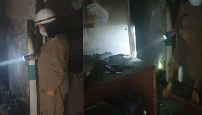 फायर कर्मियों ने बचाई कोरोना के सात मरीजों की जान, अस्पताल में आग को फैलने से भी रोका
