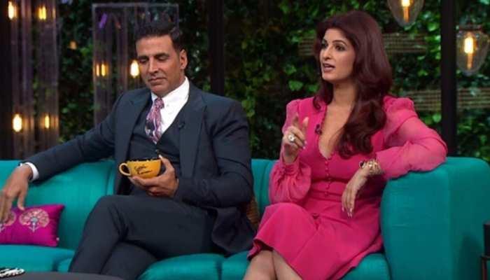 Video: Twinkle Khanna ने कुछ ऐसा कह दिया, शर्म से लाल हुए Akshay, karan johar