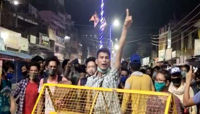 नेपाल में प्रवेश न मिलने पर भड़के नेपाली नागरिक, सोनौली बॉर्डर पर एक बार फिर हंगामा
