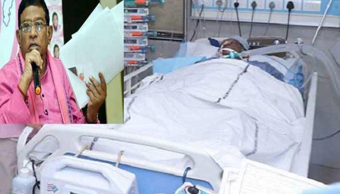 9 मई से अस्पताल में भर्ती हैं अजीत जोगी, हालत में अब भी नहीं कोई सुधार