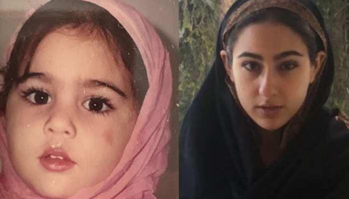 Sara Ali Khan ने नकाब वाली तस्वीर के साथ दी ईद की मुबारकबाद, लोगों को भाया यह अंदाज