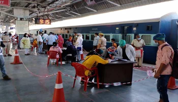 सीकर से बिहार गई श्रमिक स्पेशल ट्रेन, 1400 श्रमिक गए बेगुसराय
