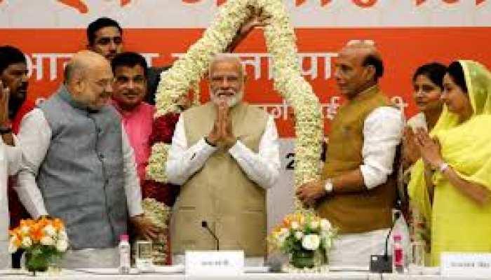 मोदी सरकार 2.0: सालगिरह पर बीजेपी की UP में वर्चुअल रैली, नेता ऐसे गिनाएंगे मोदी के काम