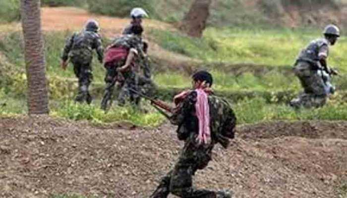 झारखंड: पश्चिम सिंहभूम में उग्रवादी-सुरक्षाकर्मियों के बीच मुठभेड़, एक नक्सली की मौत