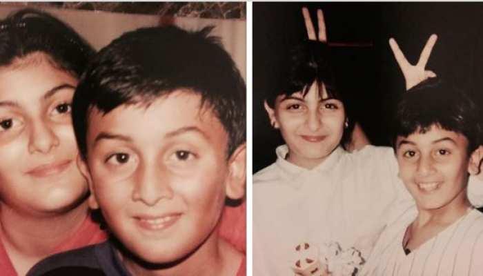 ranbir kapoor childhood photo
