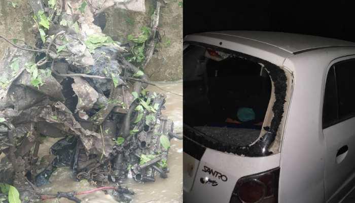 Jaish E Mohammad Terrorists tried to blast explosive laden car in Pulwama again