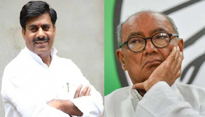 BJP प्रदेश उपाध्यक्ष रामेश्वर शर्मा का दिग्विजय सिंह पर जुबानी हमला, लगाया ये गंभीर आरोप