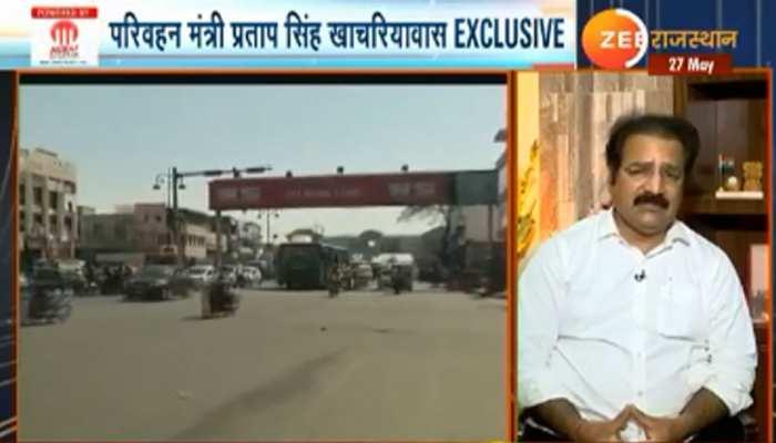 केंद्र का एक भी नेता सड़क पर मजदूर के लिए बात करते नहीं दिखा: प्रताप सिंह खाचरियावास