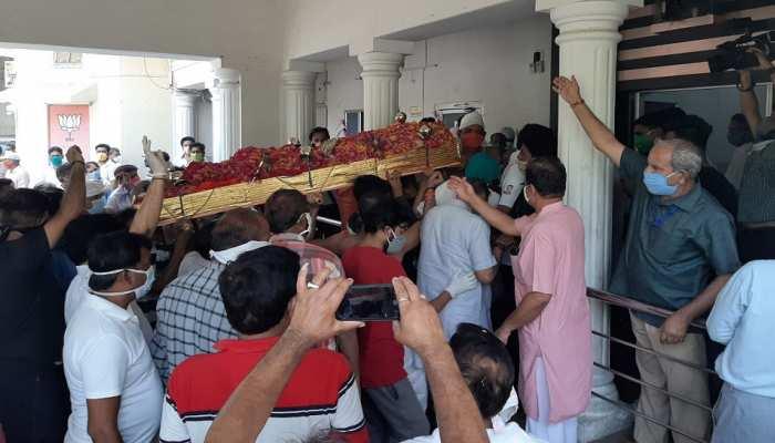 BJP के पूर्व प्रदेशाध्यक्ष भंवरलाल शर्मा का निधन, प्रदेश कार्यालय में दी गई श्रद्धांजलि
