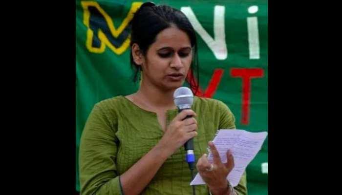 'पिंजरा तोड़' कार्यकर्ता नताशा हुई अरेस्ट, दिल्ली दंगे की साजिश रचने का है आरोप