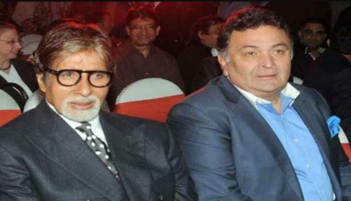जब एक अवॉर्ड के लिए Rishi Kapoor से नाराज हो गए थे Amitabh Bachchan