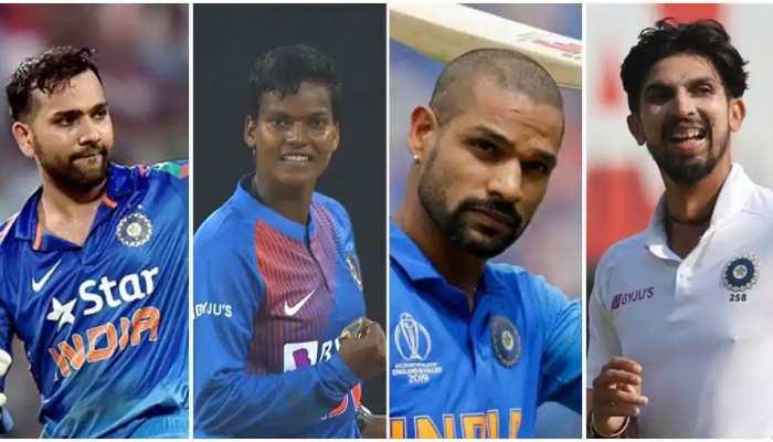 BCCI ने 'खेल रत्न' के लिए रोहित शर्मा को किया नॉमिनेट, 'अर्जुन अवॉर्ड' के लिए इन क्रिकेटर्स के नाम भेजे