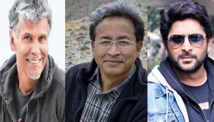 चाइनीज प्रोडक्ट्स को बॉयकॉट करने के लिए 'रैंचो' सोनम वांगचुक के साथ आए ये Bollywood Celebs