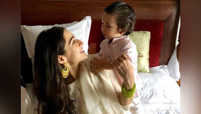Sara Ali Khan को इस नाम से पुकारते हैं Taimur Ali Khan, जानकर आप भी हंस पडे़ंगे