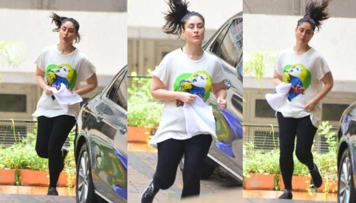 Kareena Kapoor jogging picture went viral on social media