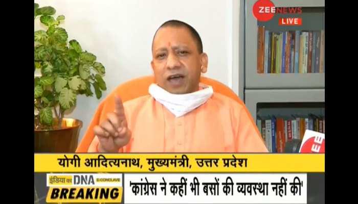 IndiaKaDNA: Yogi Adityanath talk to Sudhir Chaudhary on Coronavirus Congress and Tablighi Jamaat