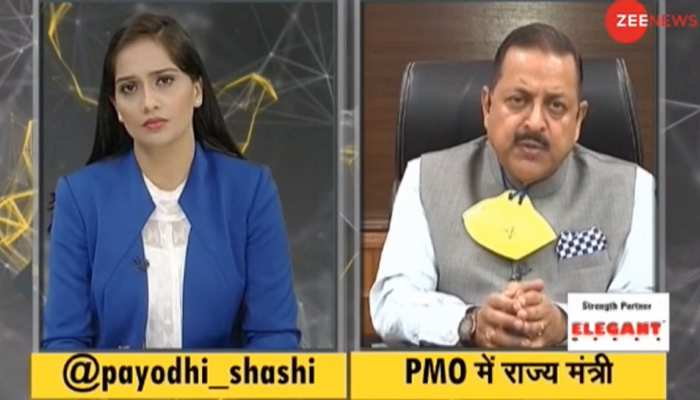 IndiaKaDNA: Jitendra Singh said Indian Army just one step away from ending Terror in Kashmir