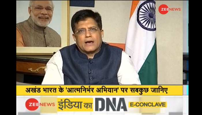 IndiaKaDNA: Piyush Goyal talk on Indian Railway's role amid Coronavirus Crisis