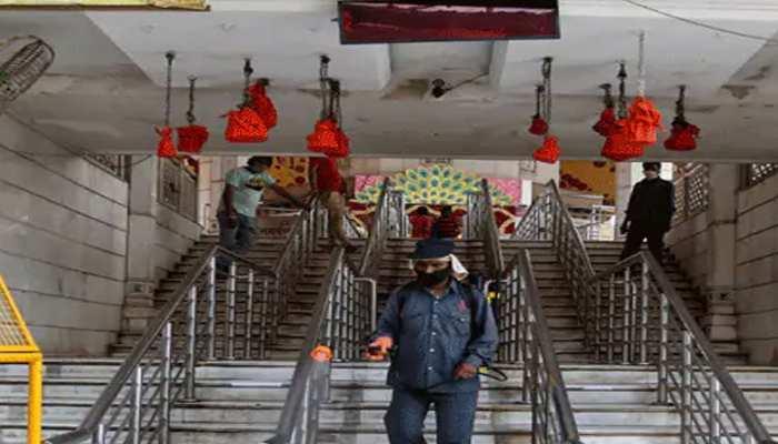 जबलपुर में आज से नहीं खुले धार्मिक स्थल, श्रद्धालुओं को करना होगा और इंतजार
