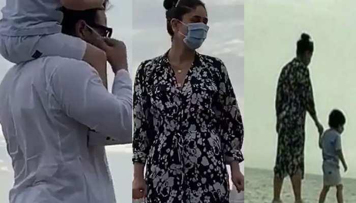 तैमूर को घुमाने निकले Saif Ali Khan और Kreena Kapoor, पुलिसवाले ने लगाई डांट
