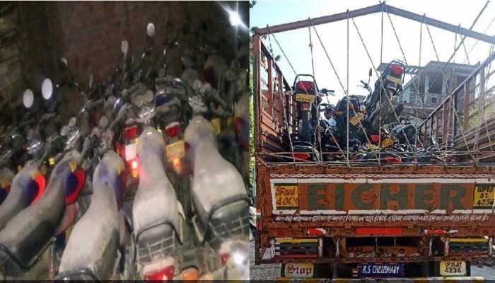 नोएडा बाइक बोट घोटाला: ईओडब्ल्यू की बड़ी कार्रवाई, 5 जिलों में छापा मारकर बरामद कीं 178 बाइकें