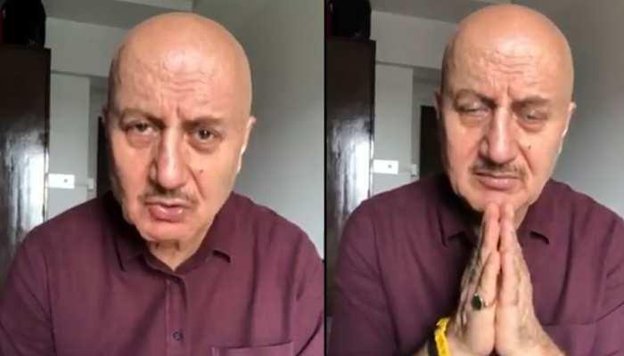 कश्मीरी पंडितों पर हिंसा को लेकर फिर आग बबूला हुए Anupam Kher, देखिए ये VIDEO